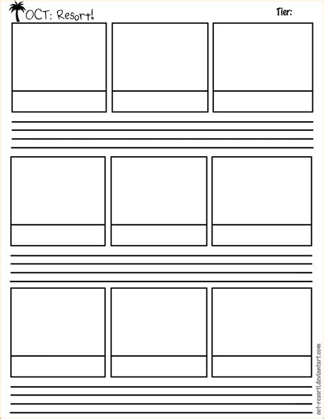 Storyboard Outline Template by 5 Storyboard Templates Teknoswitch