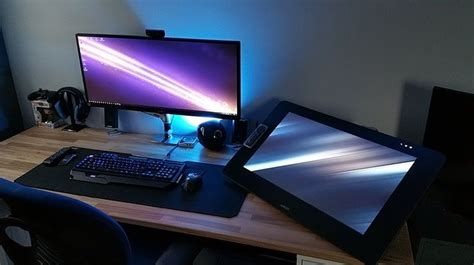 Cintiq Desk by 1000 Images About Gaming Rigs Work Station On