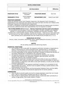 Waiters Description by Server Resume Duties Ebook Database