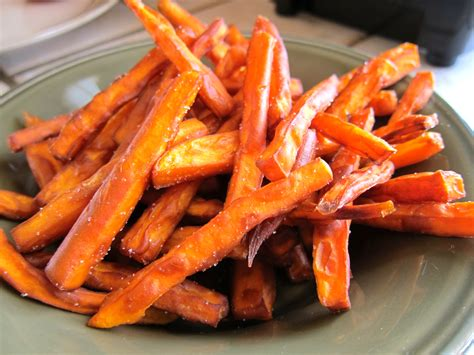 crispy sweet potato fries simply living healthy