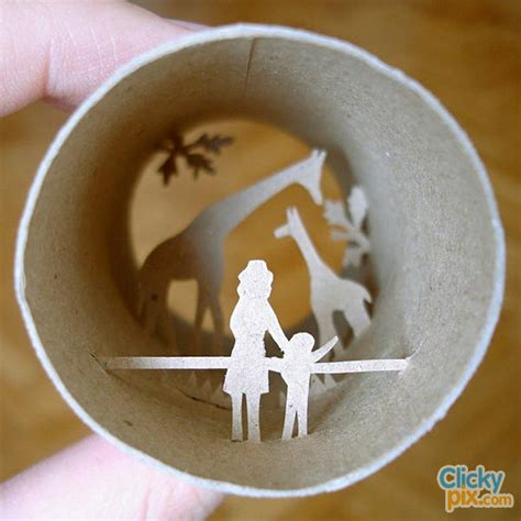 Arts And Craft With Toilet Paper Rolls - 30 exles of toilet paper roll arts crafts clicky pix