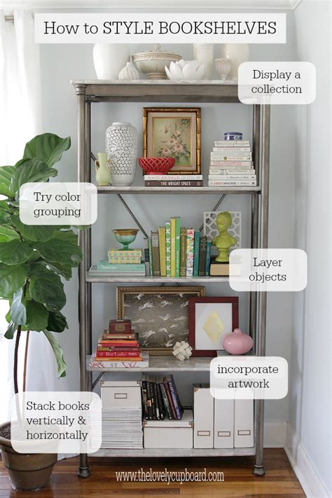 bookshelf decor how to style a bookshelf