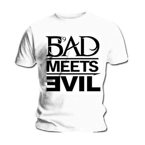 T Shirt Eminem official t shirt eminem recovery bad meets evil ebay