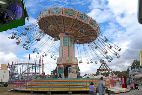 big swing ride carnival ride carnival game and carnival food vendor