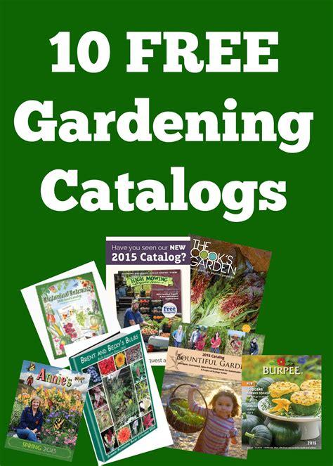 garden katalog gardening catalogs