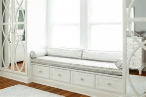 Bedroom Window Bench Mirrored Wardrobes Transitional Bedroom B Wolf