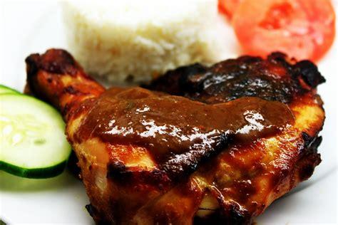Ayam Bakar Khas Padang resepi hari raya ayam bakar padang