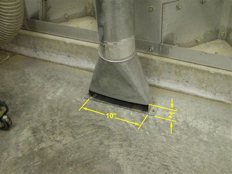 Dust Collector Floor Sweep by Dust Collector Floor Sweep Adaptor