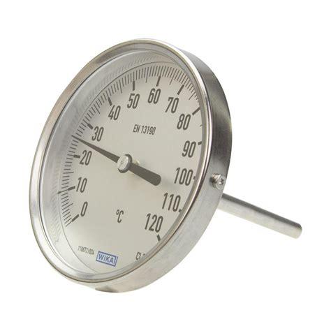 Termometer Bimetal bimetal thermometer wika a52 100 3904180 automation24
