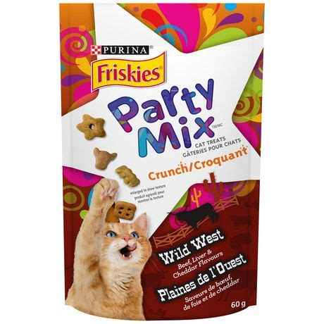 Snack Kucing Friskies Mix Cat Treats friskies mix 174 west crunch 60g walmart ca
