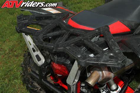 Polaris Scrambler 500 Rear Rack by 2014 Polaris Sportsman 570 Test Ride Review
