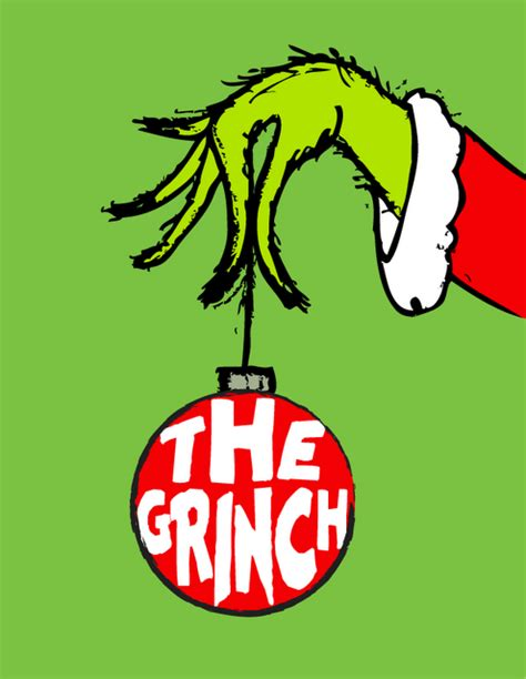 printable version of how the grinch stole christmas grinch hand clipart clipart suggest