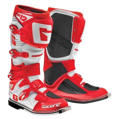 gaerne motocross boots gaerne sg 12 boots revzilla