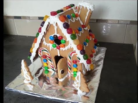 how to build a gingerbread house how to make a gingerbread house from scratch youtube