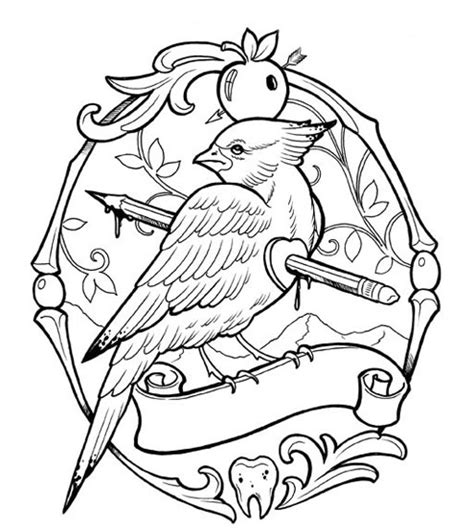 The Coloring Book Project 2nd Edition Mike Devries Coloring Pages Of Tattoos