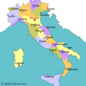 map of italy bologna all about bologna travel guide amoitaly