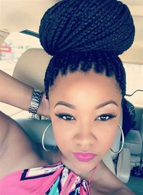 hair style to do with thick box plaits 76 best images about twist braids on pinterest