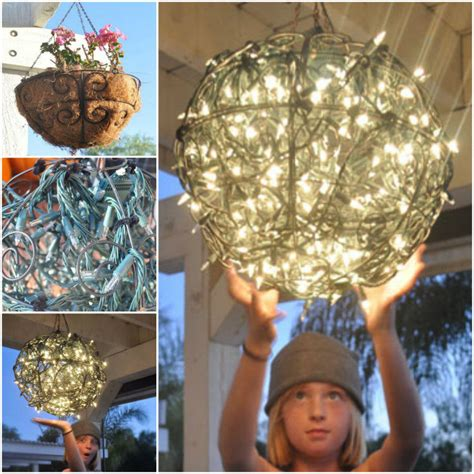 how to make chandelier how to make a garden chandelier pictures photos and