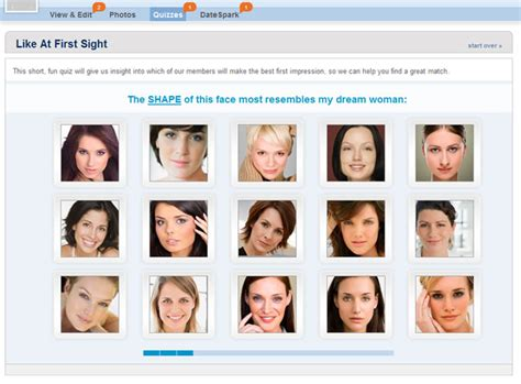 face shape quiz match com review everything you need to know before joining