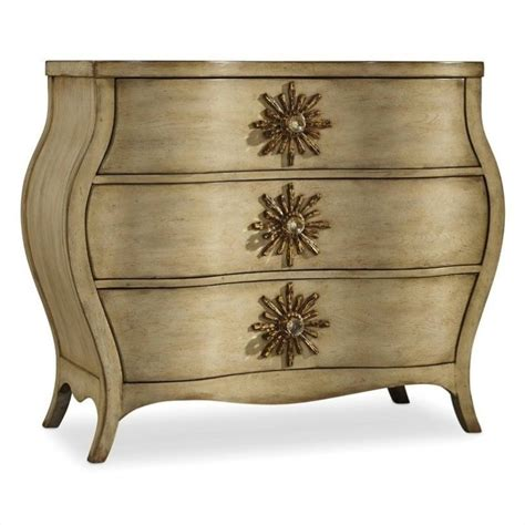 3 Drawer Bombe Chest by Furniture Sanctuary 3 Drawer Bombe Accent Chest In