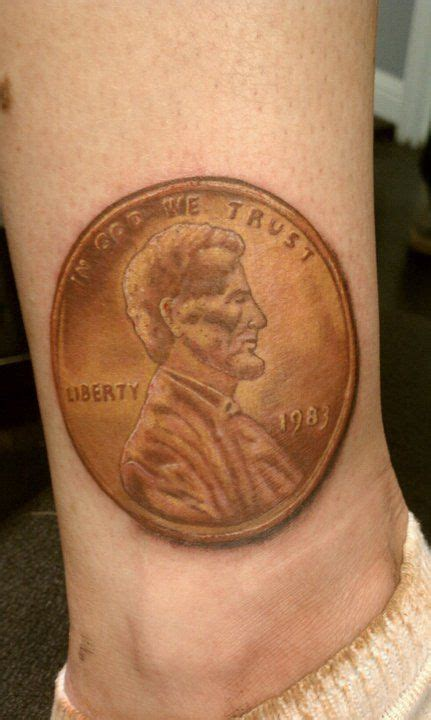 penny tattoo 17 best images about ideas on pennies