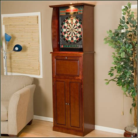 how to hang a dartboard cabinet dartboard cabinet plans avie home