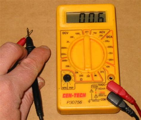 electrical resistance meter using a multimeter honda cx and gl wiki