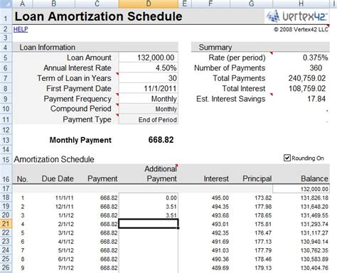 mortgage amortization spreadsheet excel free and mortgage