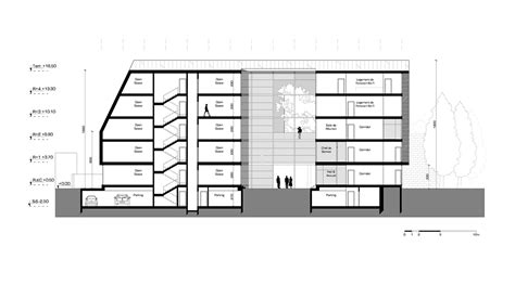 section office galeria de hk b architecture vence concurso para projetar
