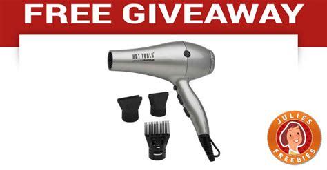 Free Hair Giveaway - free hot tools hair dryer giveaway julie s freebies