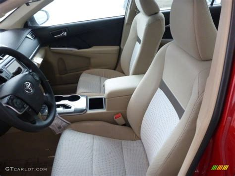 2013 Toyota Camry Interior Ivory Interior 2013 Toyota Camry Hybrid Le Photo 75308894