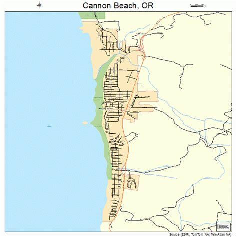 map of cannon oregon cannon oregon map 4110850