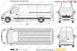 Renault Master Pdf The Blueprints Vector Drawing Renault Master L4h3 Rwd