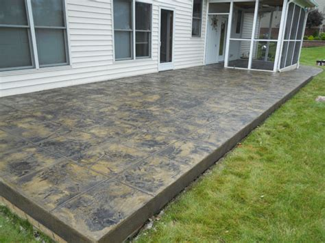 Concrete Overlays For Patios by G M Concrete Overlays