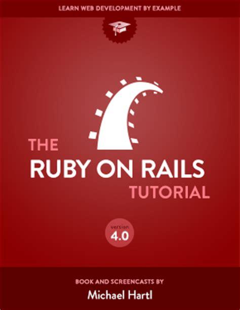 rails tutorial github hartl learn web development with rails michael hartl s ruby on
