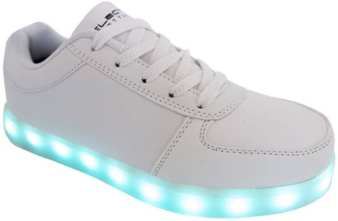 lighting sneakers galleon led shoes light up glow sneakers white 10