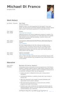 Deli Clerk Sle Resume by Deli Clerk Resume Sles Visualcv Resume Sles Database