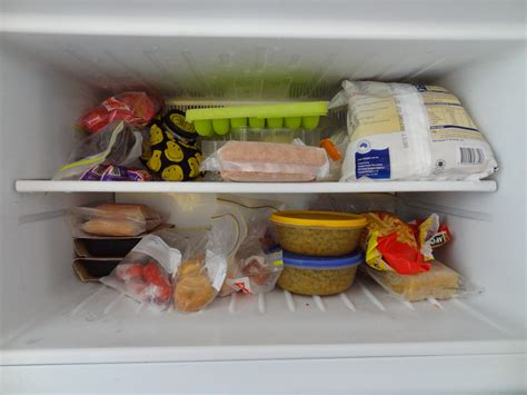 Freezer Frozen Food freezer clean up and organisation there was a crooked house