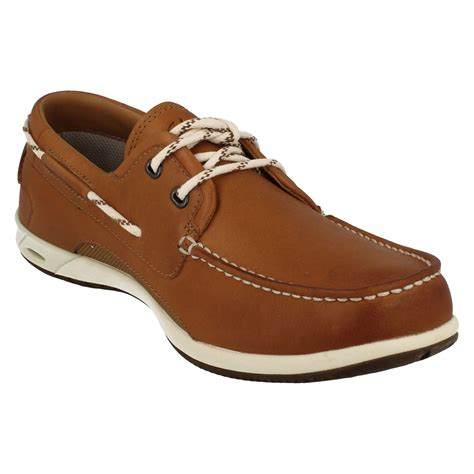 clarks boat shoes mens clarks boat shoes orson harbour ebay