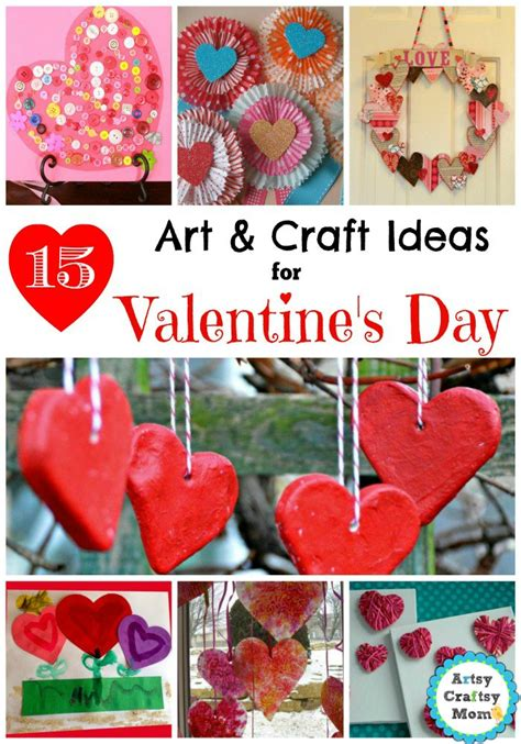 arts and crafts ideas for valentines day 15 simple valentine s day and craft ideas for
