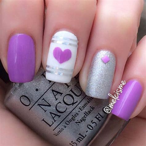 Lila Nägel by 45 Purple Nail Ideas Nenuno Creative