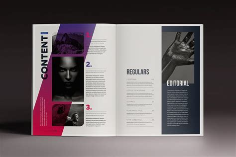 indesign templates business event