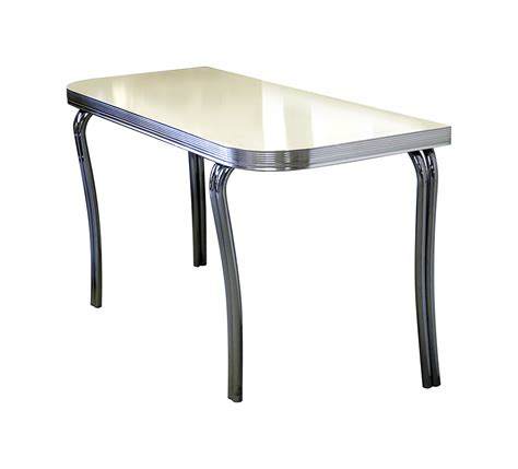 half table for kitchen bel air retro furniture diner half table wo24 151 x 60