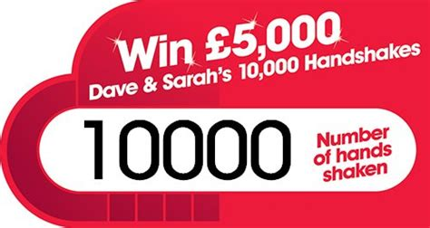 Win A 10000 At Olaycouk by Dave And S 10000 Handshakes The Winner