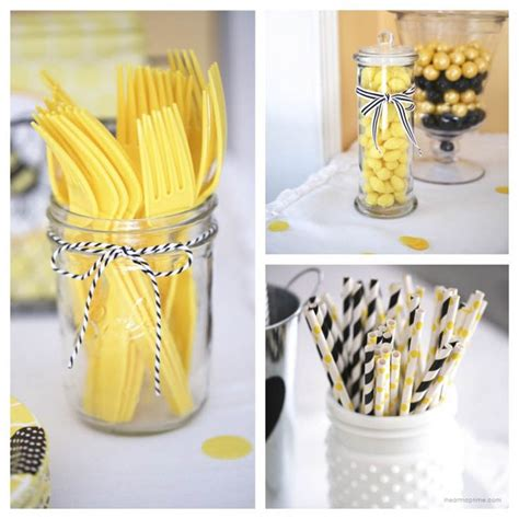 Yellow Themed Baby Shower by 25 Best Ideas About Yellow Baby Showers On