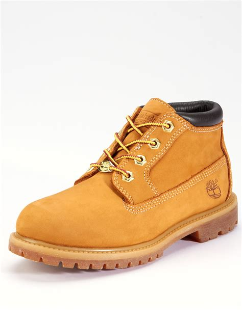 timberland ankle boots for timberland nellie ankle boots wheat in beige wheat lyst
