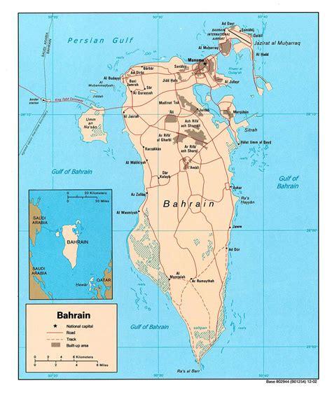 printable road map of bahrain bahrain maps printable maps of bahrain for download