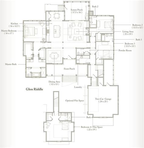 palmetto bluff floor plans glen riddle at palmetto bluff plans the o jays palmetto bluff and dining rooms