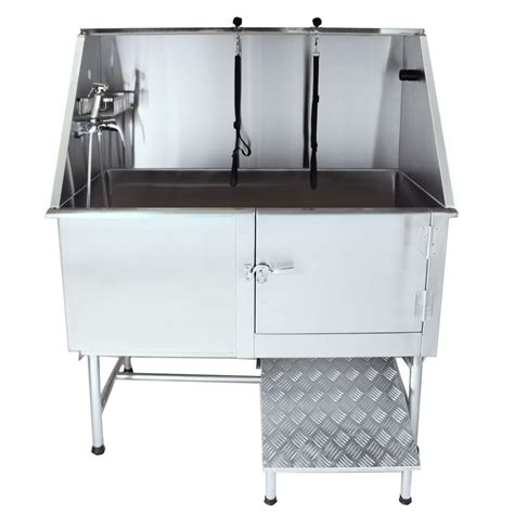 dog washing stainless dog bath tub ideas all pet cages