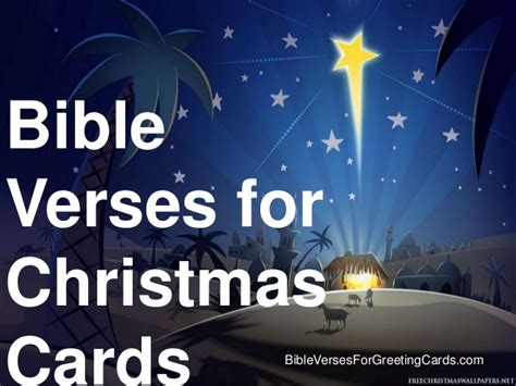 bible verses for christmas cards